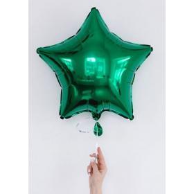 Шар звёзда зелёная