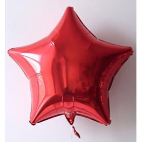 Фольгированные красные звёзды