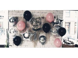 Варианты необычных фотосессий с воздушными шарами