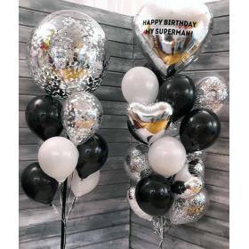 Воздушные шары для мужчины в День Рождения