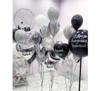 Воздушные шары на День Рождения мужчине
