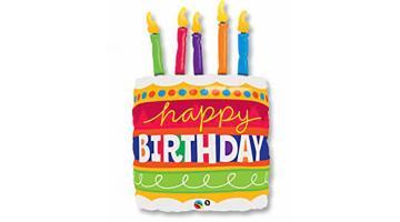Фольгированные шары на день рождения