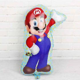 Фольгированный шар Супер Марио