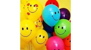Шары смайлы и улыбки