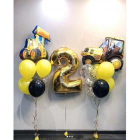 Воздушные шары на 2 года мальчику
