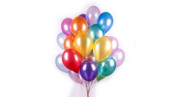 Воздушные шары металлик ассорти