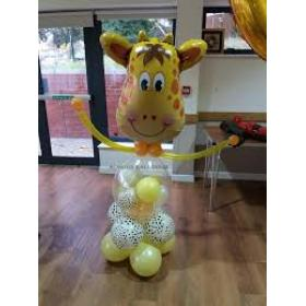 Фигура из шаров жираф