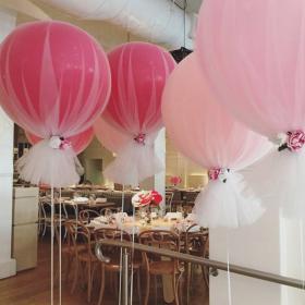 """Оформление шарами """"Розовое облако"""""""