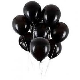 "Шар Пастель 14"" Black"