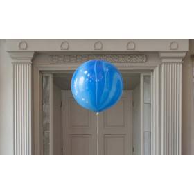 Шар гигант Агат синий