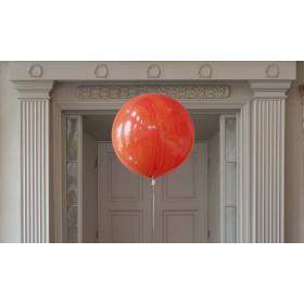 Шар гигант Агат оранжевый