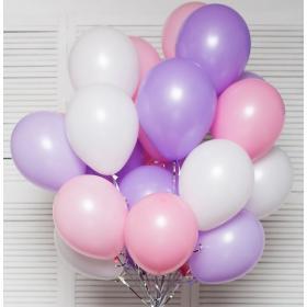 Облако шаров нежность 20 штук, для прекрасных дам