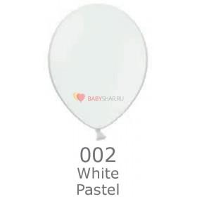 """Шар Пастель 14""""  White"""