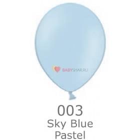 """Шар Пастель 14"""" Sky Blue"""