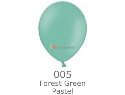 """Шар Пастель 14"""" Forest Green"""