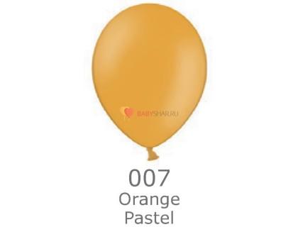 """Шар Пастель 14"""" Orange"""