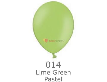 """Шар Пастель 14"""" Lime Green"""