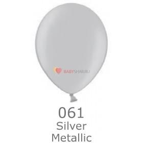 """Шар Металлик 14"""" Silver"""
