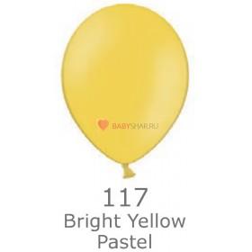 """Шар Пастель 14"""" Bright Yellow"""
