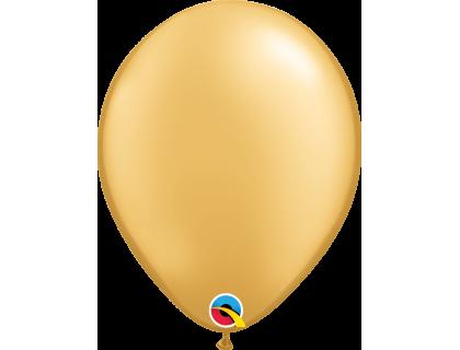 "Шар QUALATEX Q 11"" Металлик Gold"