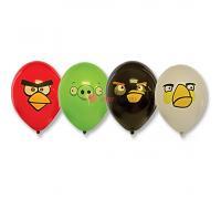 Шары с многоцветным рисунком Angry Birds