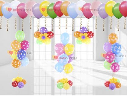 Украсьте по настоящему яркий праздник — яркими шариками для выписки из роддома.