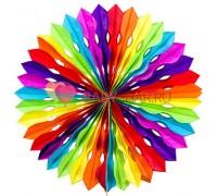Бумажный диск Разноцветный