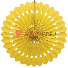 Бумажный диск Желтый