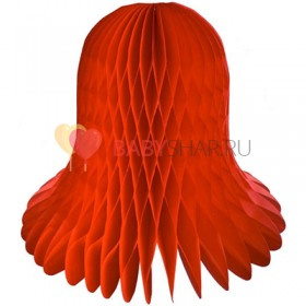 Бумажный колокол Красный