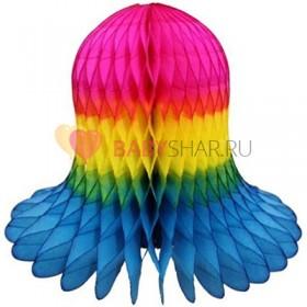 Бумажный колокол Разноцветный