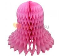 Бумажный колокол Розовый