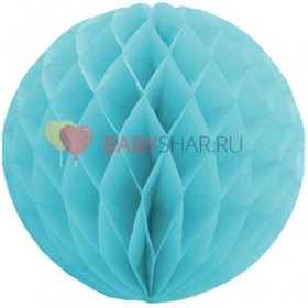 Бумажный шар Голубой