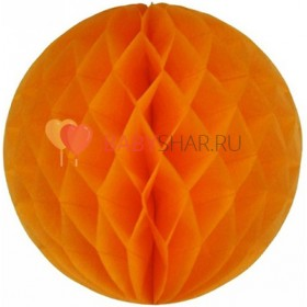 Бумажный шар Оранжевый