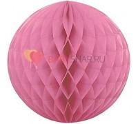 Бумажный шар Розовый