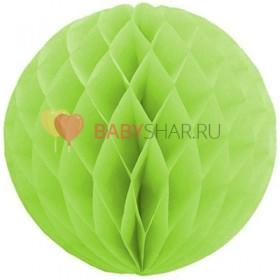 Бумажный шар Зеленый
