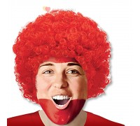 Парик Кудрявый Красный