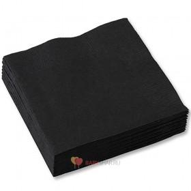 Салфетки черные Black
