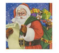 Салфетки малые Санта