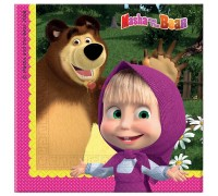 Салфетки большие Masha and the Bear