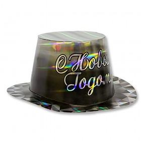 Шляпа голография С Новым годом Диамант