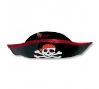 Шляпа Пирата черная