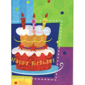 Скатерть Торт Birthday