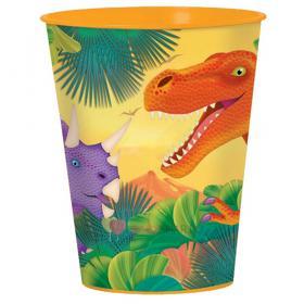 Стакан большой Динозавры