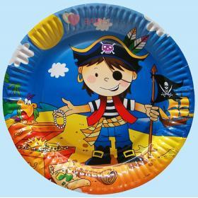 Тарелки большие Маленький пират