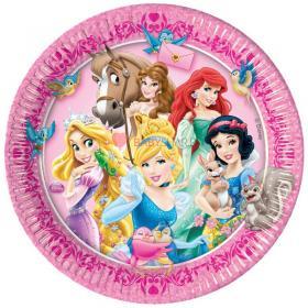 Тарелки большие Принцессы и зверушки