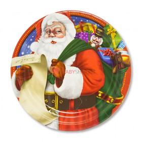Тарелки малые Санта