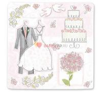 Тарелки Свадьба Романтика