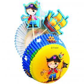 Тарталетки и украшения Маленький Пират