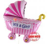 Коляска для девочки it`s a girl
