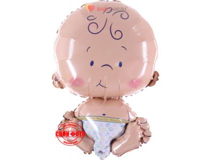 Фольгирвоанный шарик нооврожденный малыш